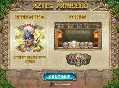 Aztec Princess review on Big Bonus Slots