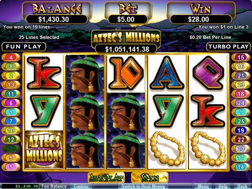 Aztec's Millions review on Big Bonus Slots