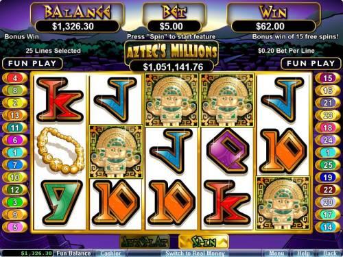 Aztec's Millions review on Big Bonus Slots