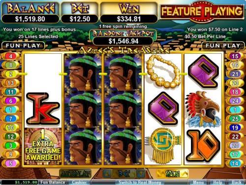 Aztec's Treasure Feature Guarantee review on Big Bonus Slots