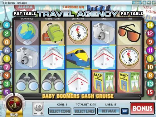 Baby Boomers Cash Cruise review on Big Bonus Slots