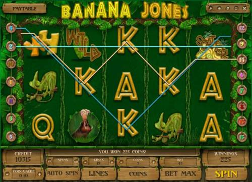 Banana Jones review on Big Bonus Slots