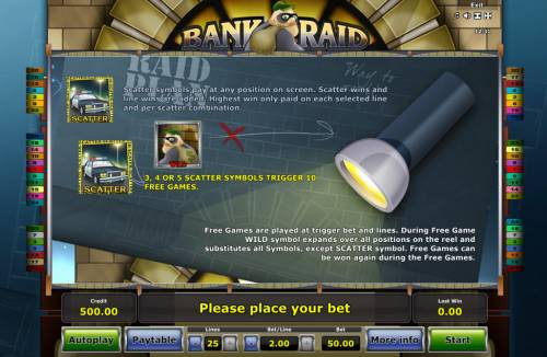 Bank Raid review on Big Bonus Slots