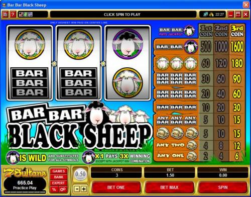Bar Bar Black Sheep review on Big Bonus Slots
