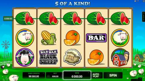 Bar Bar Black Sheep 5 Reels review on Big Bonus Slots