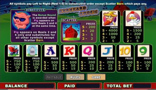 Barnyard Boogie review on Big Bonus Slots