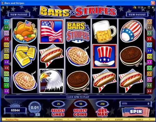 Bars & Stripes review on Big Bonus Slots