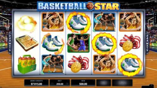 Basketball Star review on Big Bonus Slots
