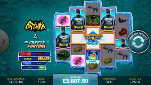 Batman & Mr. Freeze Fortune review on Big Bonus Slots