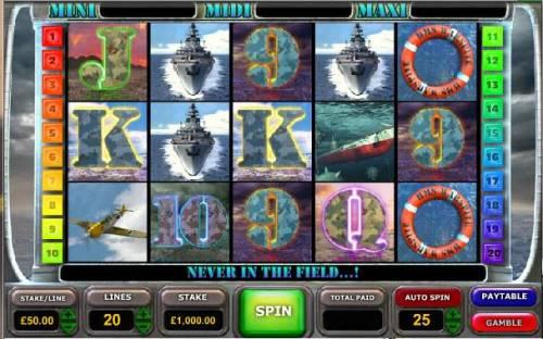 Battle of the Atlantic review on Big Bonus Slots