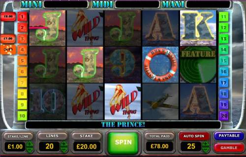 Battle of the Atlantic Big Bonus Slots