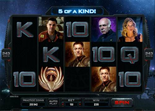 Battlestar Galactica review on Big Bonus Slots