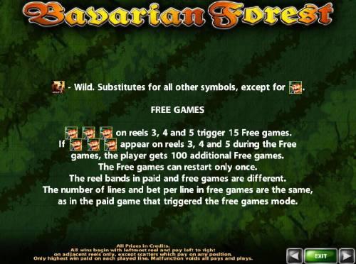 Bavarian Forest review on Big Bonus Slots