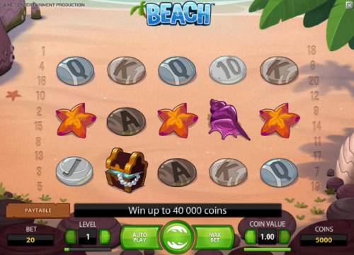 Beach review on Big Bonus Slots