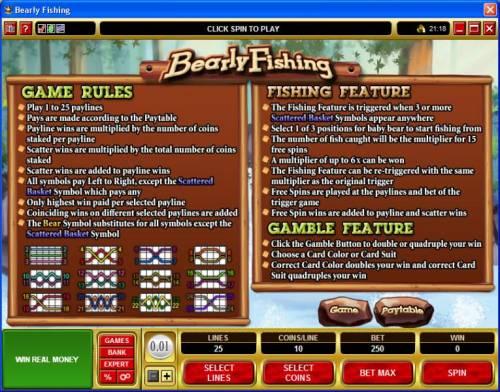 Bearly Fishing review on Big Bonus Slots