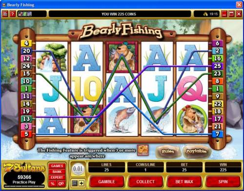 Bearly Fishing review on Big Bonus Slots