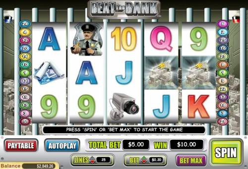 Beat the Bank review on Big Bonus Slots