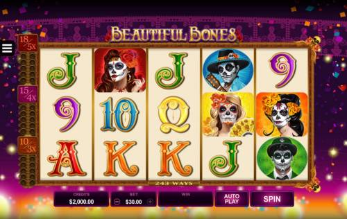 Beautiful Bones review on Big Bonus Slots