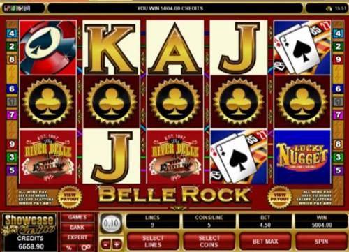 Belle Rock review on Big Bonus Slots