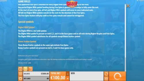 Big Bot Crew review on Big Bonus Slots