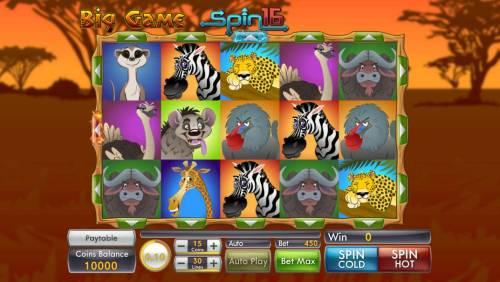 Big Game Spin 16 review on Big Bonus Slots