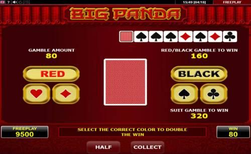 Big Panda review on Big Bonus Slots