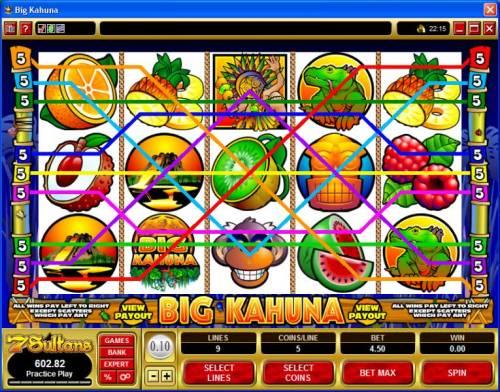 Big Kahuna review on Big Bonus Slots