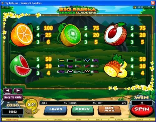 Big Kahuna Snakes & Ladders review on Big Bonus Slots