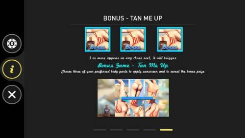 Bikini Beach Big Bonus Slots Tan Me Up Bonus Rules