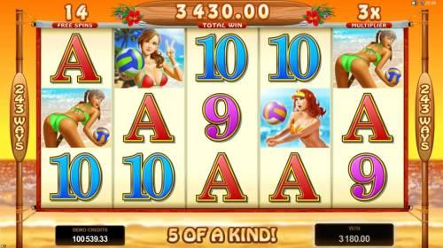 Bikini Party review on Big Bonus Slots