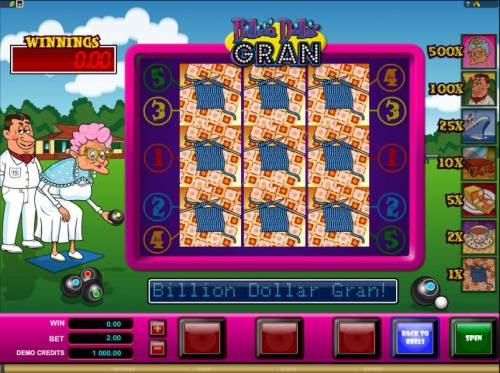 Billion Dollar Gran review on Big Bonus Slots