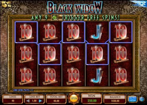 Black Widow review on Big Bonus Slots