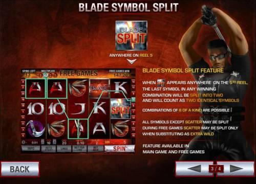 Blade review on Big Bonus Slots