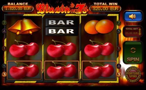 Blazin' Hot 7s review on Big Bonus Slots