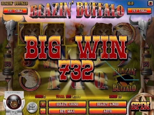 Blazin' Buffalo review on Big Bonus Slots
