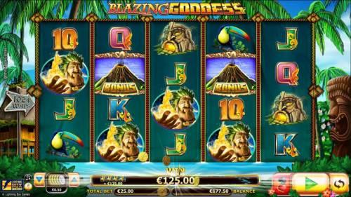 Blazing Goddess review on Big Bonus Slots