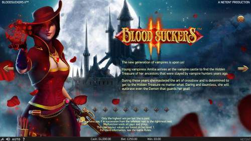 Blood Suckers II review on Big Bonus Slots