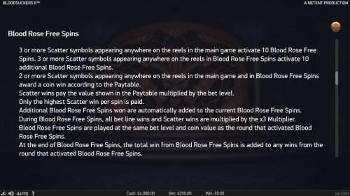 Blood Suckers II review on Big Bonus Slots