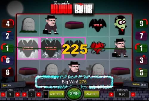 Dracula's Blood Bank review on Big Bonus Slots