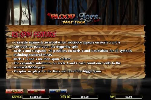 Blood Lore Wolf Pack review on Big Bonus Slots