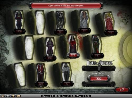 Blood Suckers review on Big Bonus Slots