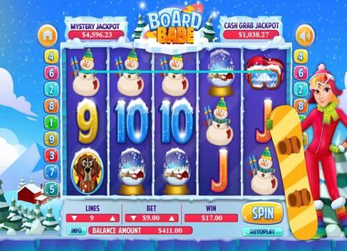 Board Babe review on Big Bonus Slots