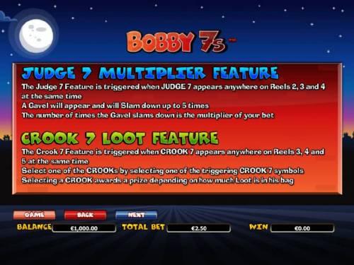 Bobby 7s review on Big Bonus Slots
