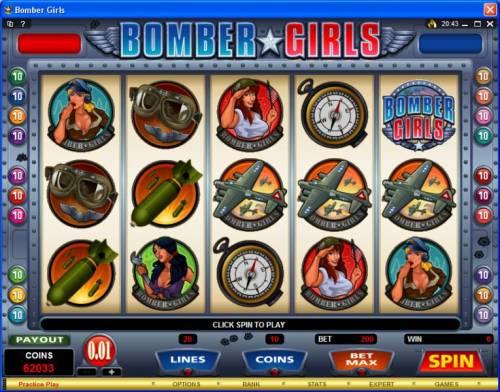 Bomber Girls review on Big Bonus Slots