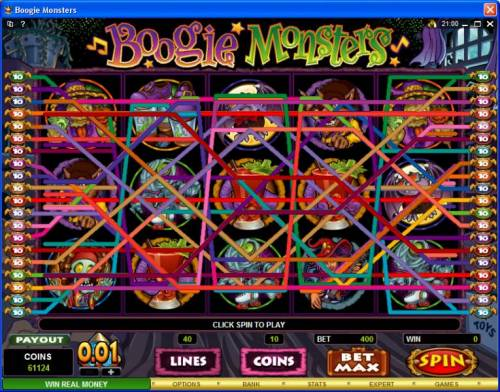 Boogie Monsters review on Big Bonus Slots