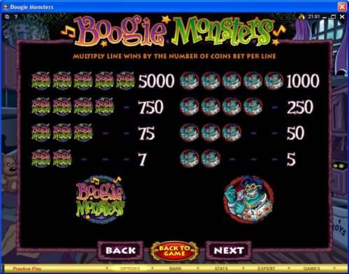Boogie Monsters review on Big Bonus Slots