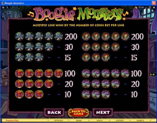 Boogie Monsters Big Bonus Slots