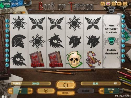 Book of Tattoo review on Big Bonus Slots