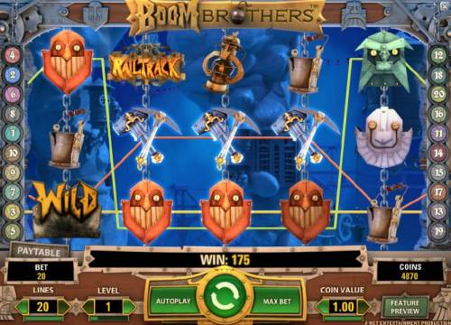 Boom Brothers review on Big Bonus Slots