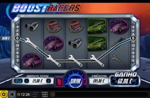Boost Racers Big Bonus Slots Four of a kind